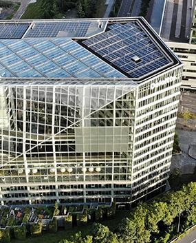 Smart Building technologie door HC RT